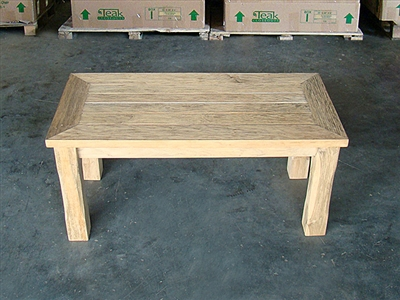 "90cm/36"" Juwana Teak Backless Bench"