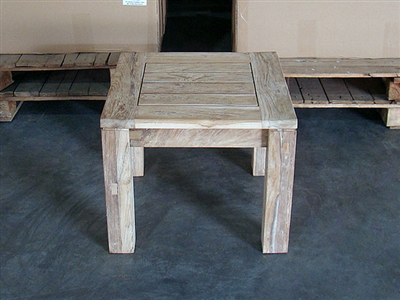 Jambi Teak Side Table ( Rustic Finish )