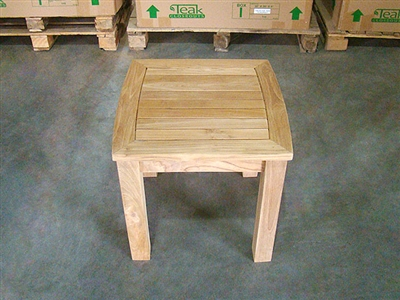 teak side table meno