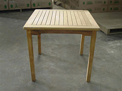 Java Square Teak Table 80 x 80cm