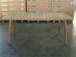 Melasa Rectangle Teak Table 180 x 95cm
