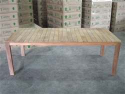 "Obelia Rectangle Table 220 x 100cm (87""x40"")"