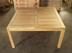 Rinjani Square Teak Table 150 x 150cm