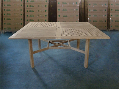 Sulawesi Square Teak Table 180 x 180cm