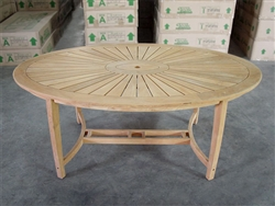 Williamsburg Oval Dining Table - 180cm x 110cm