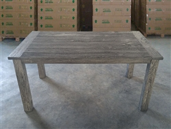 "S2DIO Teak Table #0073 - 160x90cm - 63"" x 35"""