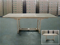 Lisa Rectangle Extension Table 180cm/240cm x 100cm