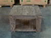 Heavy Teak Coffee Table 70cm x 70cm