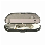 Bobelock Half Moon Shaped Wooden Violin Case 1047
