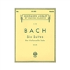 Bach '6 Suites' BWV 1007-1012 for Solo Cello Sheet Music | Schirmer Edition