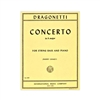 Dragonetti Double Bass Concerto A Major Sheet Music