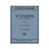 Storch Hrabe 57 Studies Volume 1 Double Bass Sheet Music