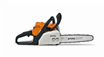 Stihl MS170 entry level petrol chainsaw 12 inch 30 cm bar length