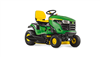 John Deere X126 Ride on tractor mower mulch or side discharge
