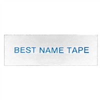 Name Tape Labels - Blue - 1 Line