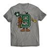 Find your CAMP SPIRIT with the Belknap Letterman T-Shirt..