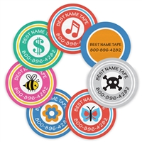 COLOR LOGOS - CIRCLE PERFORMANCE LABELS