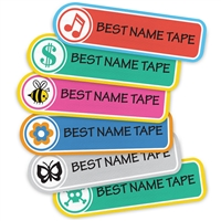 Performance Iron-On Clothing Labels with Logo.