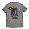 Find your CAMP SPIRIT with the Dora Golding Letterman T-Shirt..