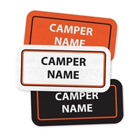 <!009>CAMP KIEVE - RECTANGLE PERFORMANCE LABELS