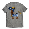 Find your CAMP SPIRIT with the Lohikan Letterman T-Shirt..