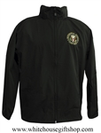 Camp David Presidential Retreat Windbreaker Jacket, high tech fiber, machine wash and dry custom embroidery.