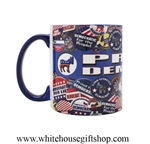 Democrat Buttons Coffee Mug