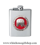 Heritage Pewter Republican Flask
