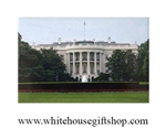 White House South Lawn Magnet
