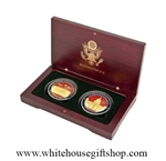 Capitol & White House Coin Set