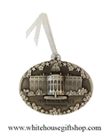 Pewter Capitol Ornament