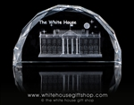 White House Glass Hologram from the White House Gift Shop's Presidential Gifts Collection