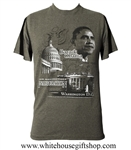 Obama & Capitol Inauguration T-Shirt