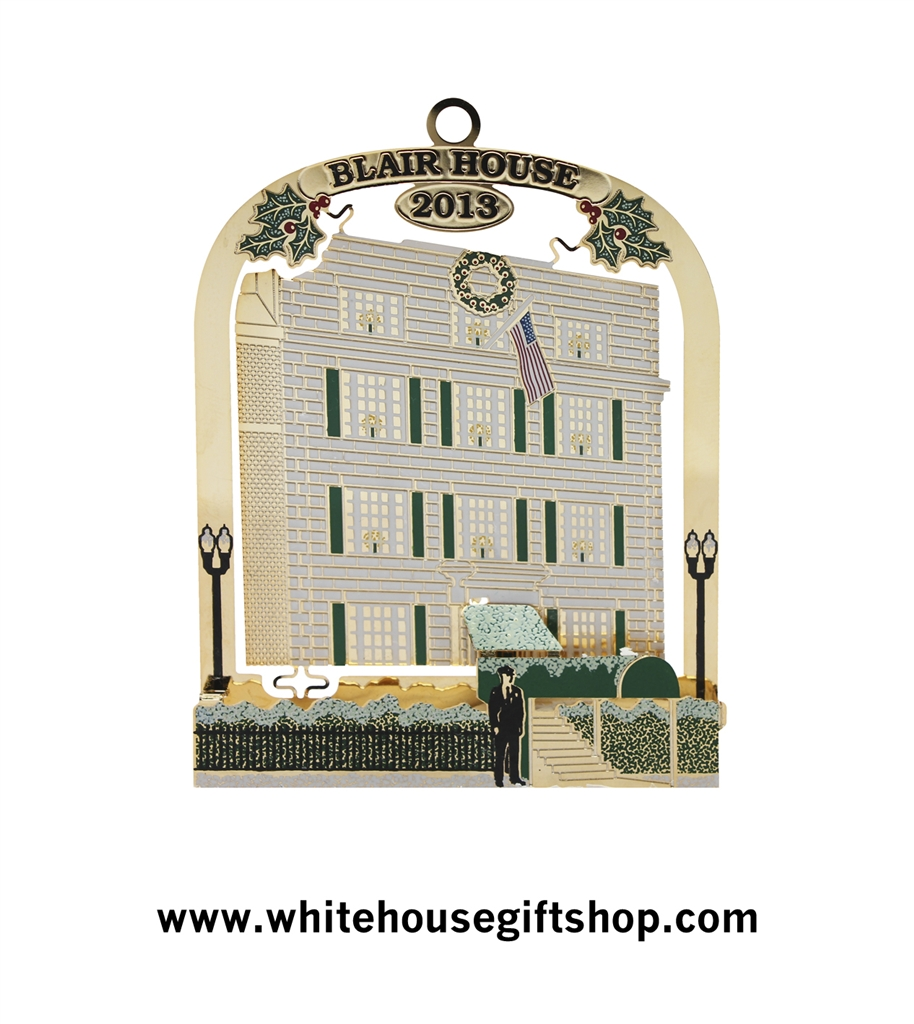 White house christmas ornaments by year - 2013 White House Ornament 24 In Collection Often Called Secret Service Series By Collectors Worldwide Blair House In 1950 Honors History Of The White