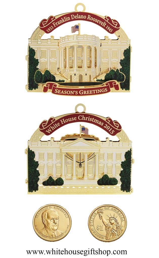 2015 White House Gs Ornament 27 Honors President