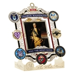 2016 White House Christmas Ornament: George Washington