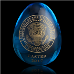 2017 White House Glass Easter Egg