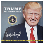 President Donald Trump 2017 Calendar with 100 Photographs