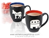 Republican and Democratic Party Bistro Mugs