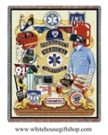 Emergency Medical Services Commemorative Blanket & Throw