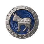 Heritage Pewter Democratic Coin