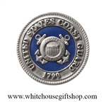 Heritage Pewter Coast Guard COIN USCG