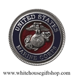 Heritage Pewter USMC Challenge & Commemorative Coin