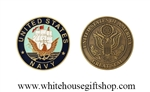 U.S. Navy Coin 1.75 Inch Diameter
