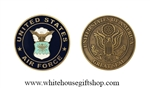 U.S. Air Force Challenge Coin 1.75 Inch Diameter
