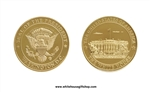 Seal Gold Coin