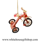 Tricycle White House Ornament