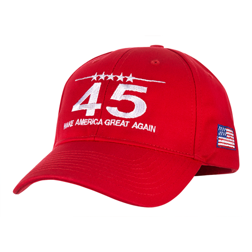 hat-president-trump-maga-make-america-great-again-100& made in USA-red-white embroidery-official-white-house-gift-shop-presidents-gifts-collection-high resolution photo