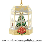 New England Christmas Window White House Gift Shop Ornament