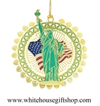 Statue of Liberty White House Gift Shop Commemorative Ornament